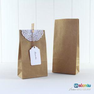 Bán túi giấy kraft đựng fastfood rẻ
