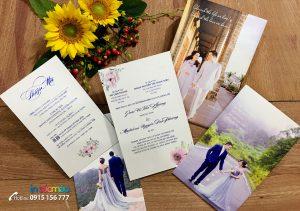 In Thiệp cưới giá rẻ tại Hà Đông