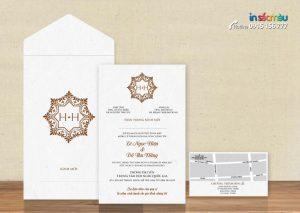 Thiệp cưới đẹp giá rẻ tại Hà Nội