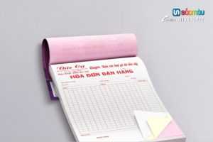 Báo giá in hóa đơn A5 tại Ba Đình, Cầu Giấy, Hà Nội