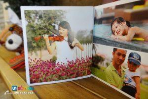 In Photobook cho bé, album ảnh gia đình tại Hà Nội