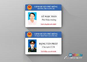 In thẻ nhân viên tại Hà Nội