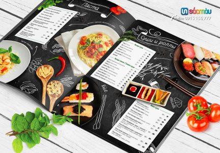 Kết quả hình ảnh cho xưởng in menu giá rẻ