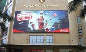 In biển bạt quảng cáo căng khung sắt tại Hà Nội