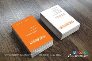 In card visit giá rẻ tại Quận Bắc Từ Liêm Hà Nội