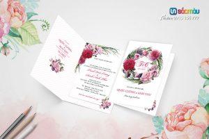 In Thiệp cưới lấy ngay tại Hà Nội