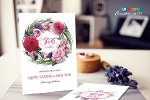 In Thiệp cưới giá rẻ tại Cầu Diễn, Hà Nội