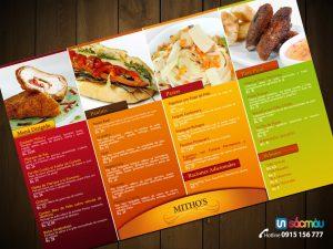 In menu giá rẻ tại đường Văn Tiến Dũng Hà Nội