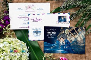 In Thiệp cưới giá rẻ tại Hồ Tùng Mậu, Kiều Mai