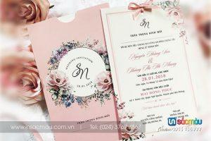 In Thiệp cưới giá rẻ tại Đào Tấn, Kim Mã Ba Đình, Hà Nội