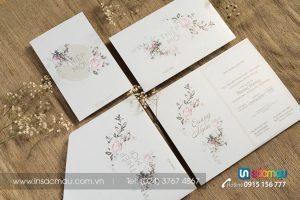 In Thiệp cưới giá rẻ lấy ngay tại Thái Hà, Tây Sơn Ba Đình, Hà Nội